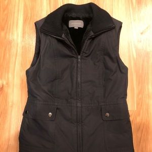 Ann Taylor Vest with faux fur lining - XS